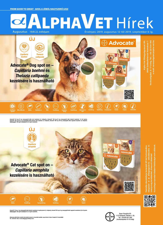 Aniprantel cat fereghajto tabletta. Jelenlegi hely