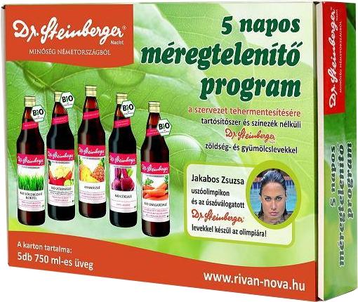 3 napos méregtelenítés természetes gyümölcslevekkel