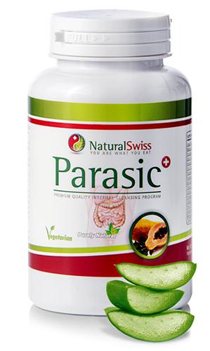 a parazitákat gyógyszerrel taszítja