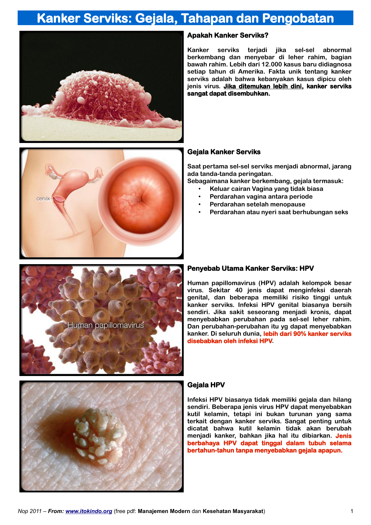 A HPV vírus átterjedésének tünetei