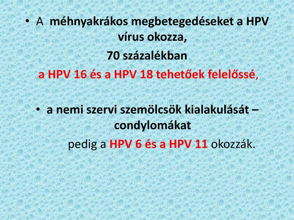 kolposzkópia és szemölcsök)
