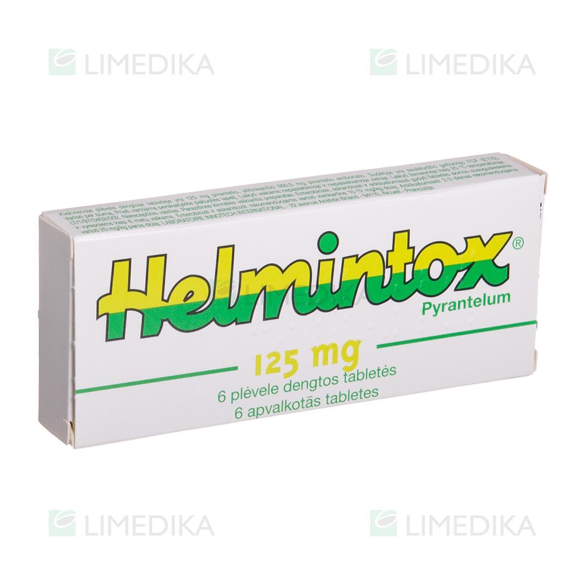 helmintox tabletta adagolása