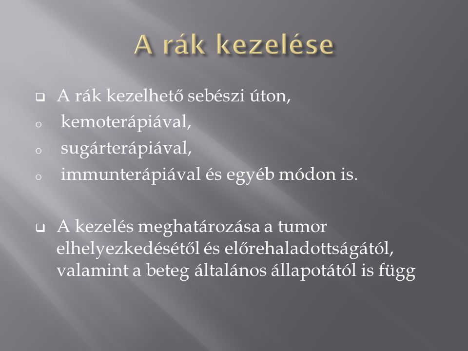 Szarkóma rákos bőr